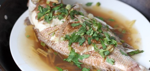 Malaysian Style Steamed Fish 1