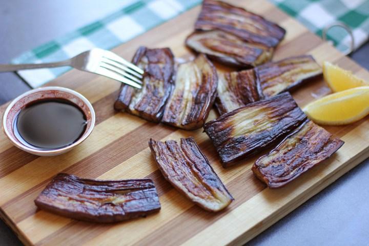 Pritong Talong (Pan Fried Asian Eggplants) 1