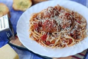 Spaghetti Meatballs 1