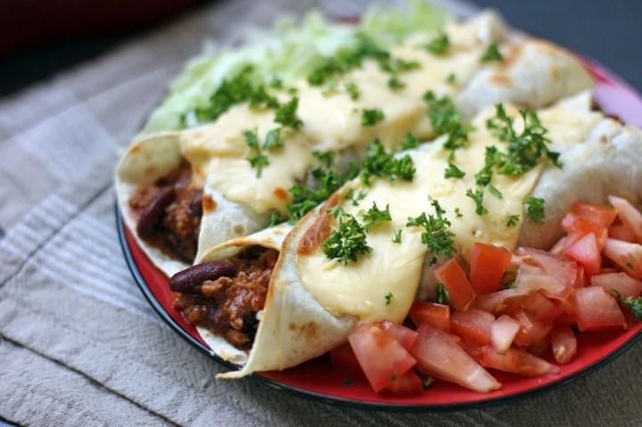 Beef Burritos Wide