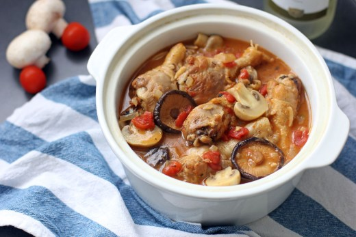 Chicken Chasseur 1