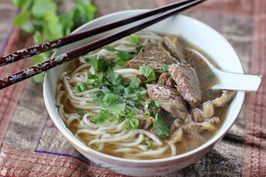 Taiwanese Beef Noodle Soup 2