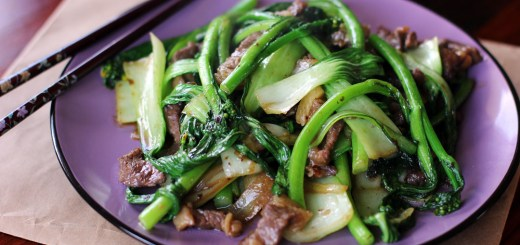 Beef and Asian Greens Stir Fry 1