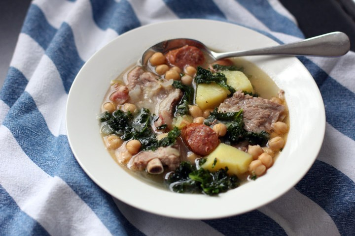 Galician Pork and Vegetable Stew Wide