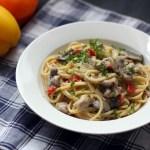 Creamy Chicken, Mushroom and Bell Pepper Pasta 1