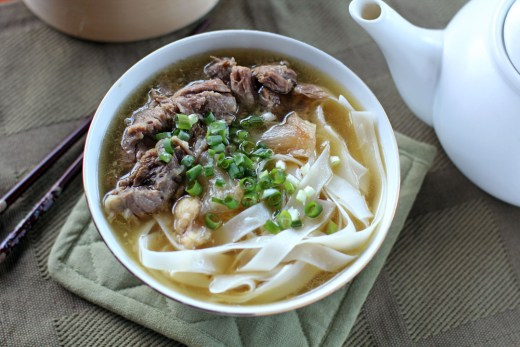 Kau Kee Beef Noodle Soup 1