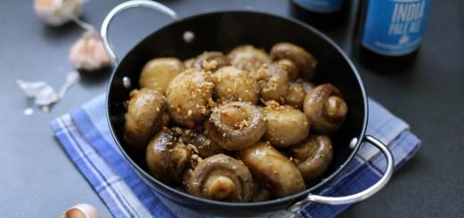 Champinones al Ajillo (Garlic Mushrooms) 1