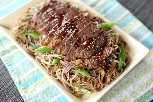 Teriyaki Steak Soba 1