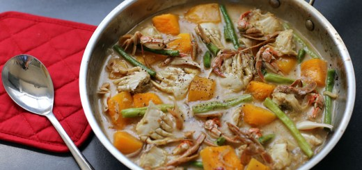 Ginataang Alimasag (Crab in Coconut Cream Sauce) 2