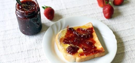 Three Ingredient Strawberry Jam 1