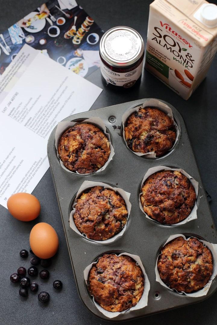 Easy Jam Muffins