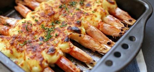 Grilled Cheese Prawns 1
