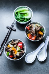 Beef and Peppers in Black Bean Sauce 2
