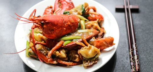 Cantonese Style Ginger Scallion Lobster 1