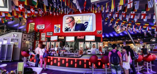 Coca-Cola Sports Bar - Arena of Football (Europa Park, Germany) 1