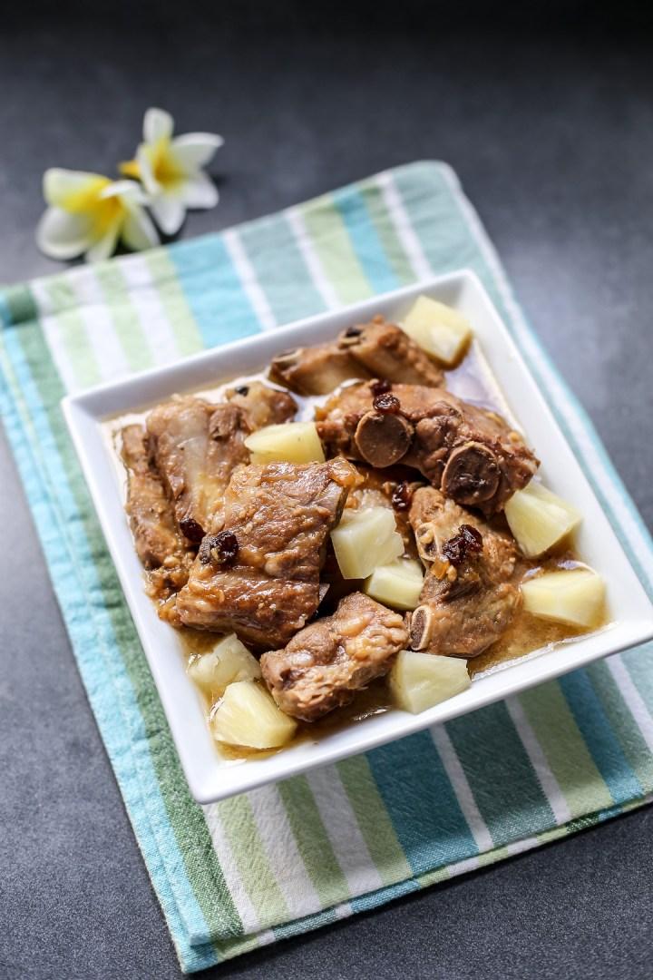 Pineapple Braised Pork Ribs