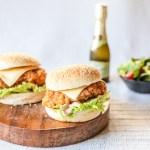 Homemade Copycat Zinger Burger 1