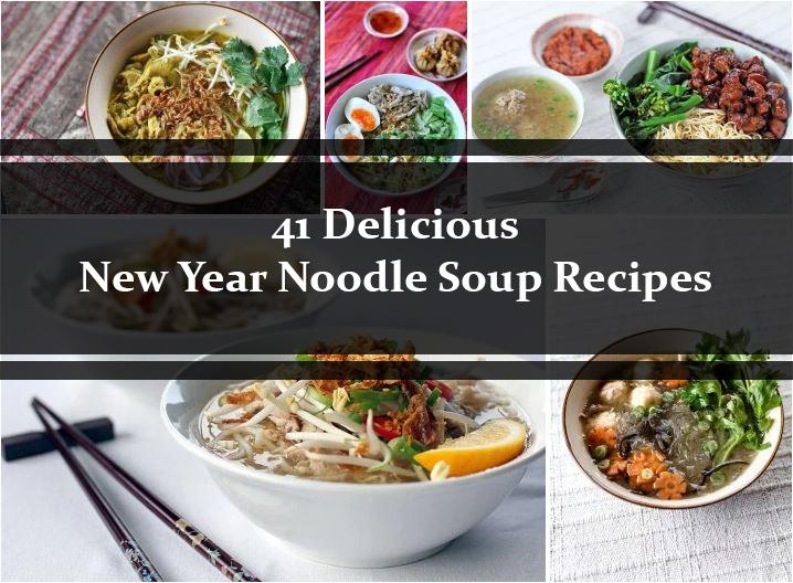 41 Noodle Soups