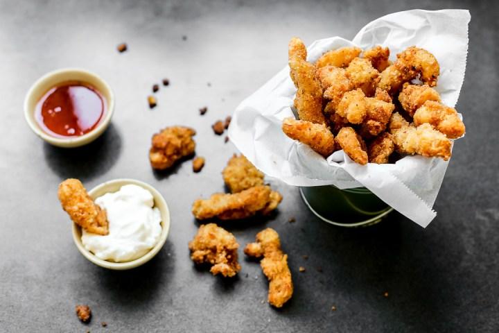 Popcorn Shrimp Wide