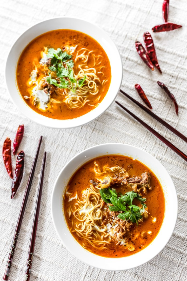 Chiang Mai Curry Noodles