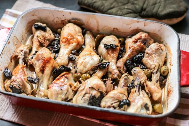 Chicken Marbella Wide