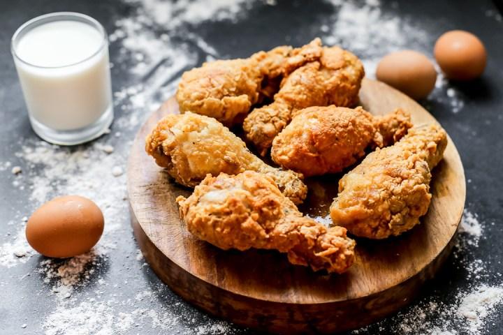 Buttermilk Fried Chicken Wide
