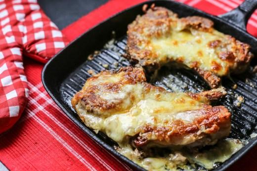 Cheese Stuffed Pork Chops 1