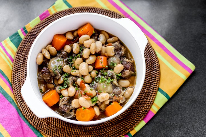 Jamaican Oxtail Stew Wide