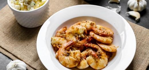 Hawaiian Garlic Shrimp Scampi 2