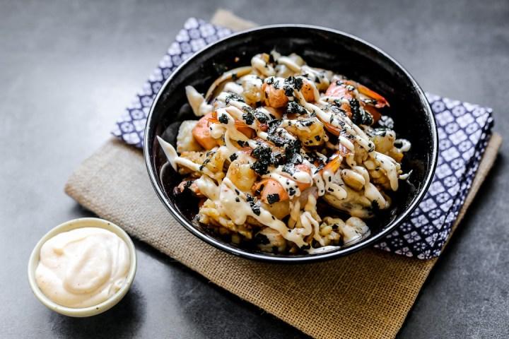 Seafood Teppanyaki Wide