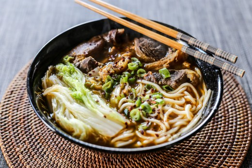 Lanzhou Beef Noodle Soup 1