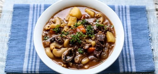 Chunky Beef and Pasta Stew 1