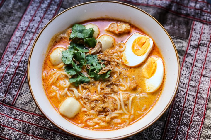 Fishball Laksa Wide