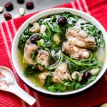 Watercress with Pork Rib Soup 1