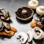 Double Mushroom Brushetta 1