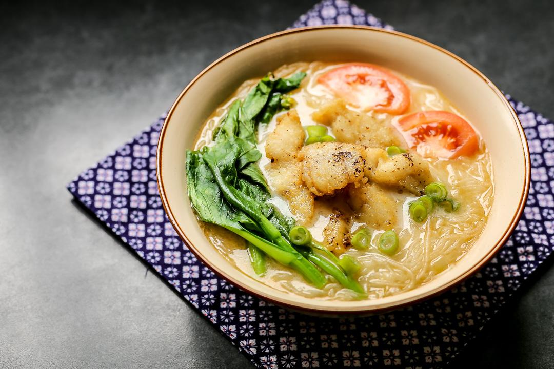 Fish Soup Bee Hoon Ang Sarap