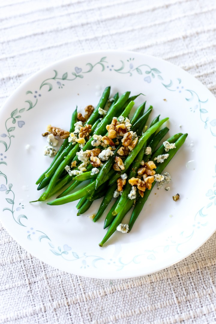 Blue Cheese Walnut Green Beans