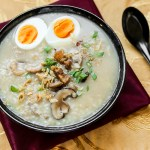 Pork and Dried Shrimp Congee 2