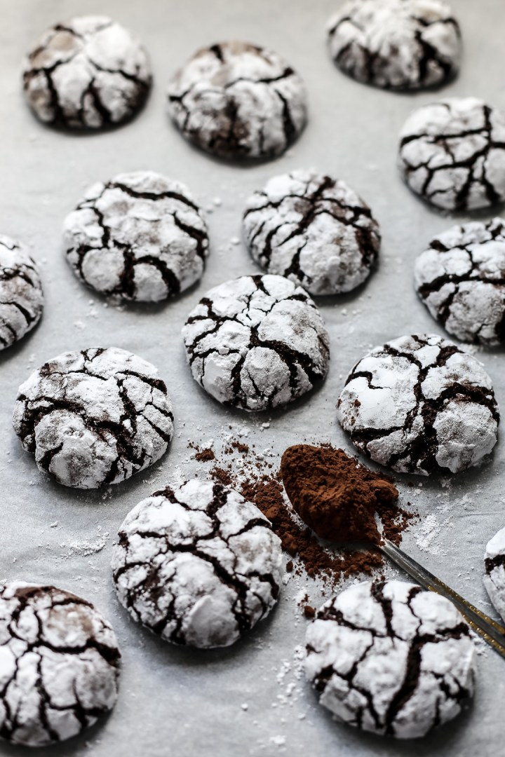 Image Result For Chocolate Crinkles Cookies