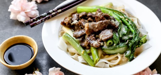 Fried Beef Hor Fun With Gravy 1
