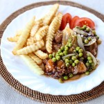 Hainan Chicken Chop 1