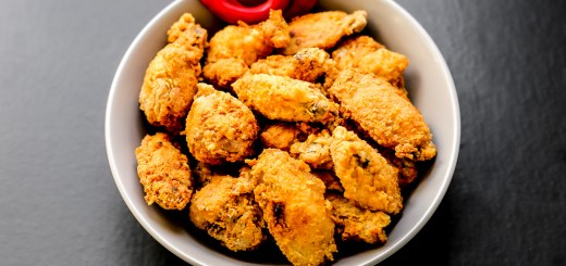 Hot and Spicy Fried Chicken Wings 1