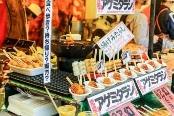 Meiji Jingu Open Air Food Court 25