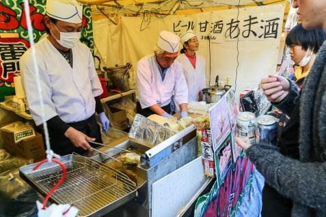Meiji Jingu Open Air Food Court 29