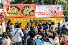 Meiji Jingu Open Air Food Court 38