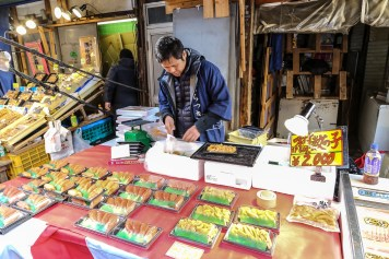 Tsukiji Fish Market Street Food 06