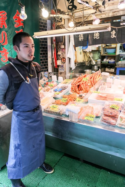 Tsukiji Fish Market Street Food 07