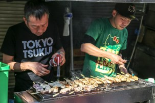 Tsukiji Fish Market Street Food 10