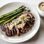 Steak in Mushroom Miso Sauce 1