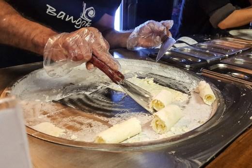 Bangkok Rolled Ice Cream (Auckland CBD, New Zealand) 5